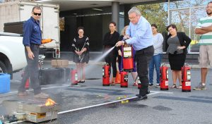 AISWA Fire Training