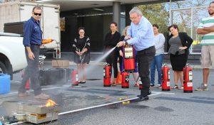 AISWA Fire Training